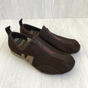 Merrell Barrado Women's Leather Zip Up Shoe Sz8